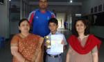 Raunak Negi(Winner of Badminton Championship – District level)